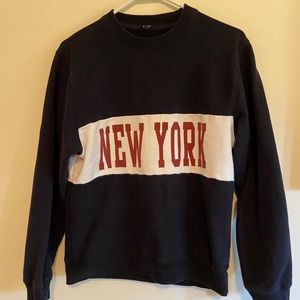 brandy melville new york crewneck